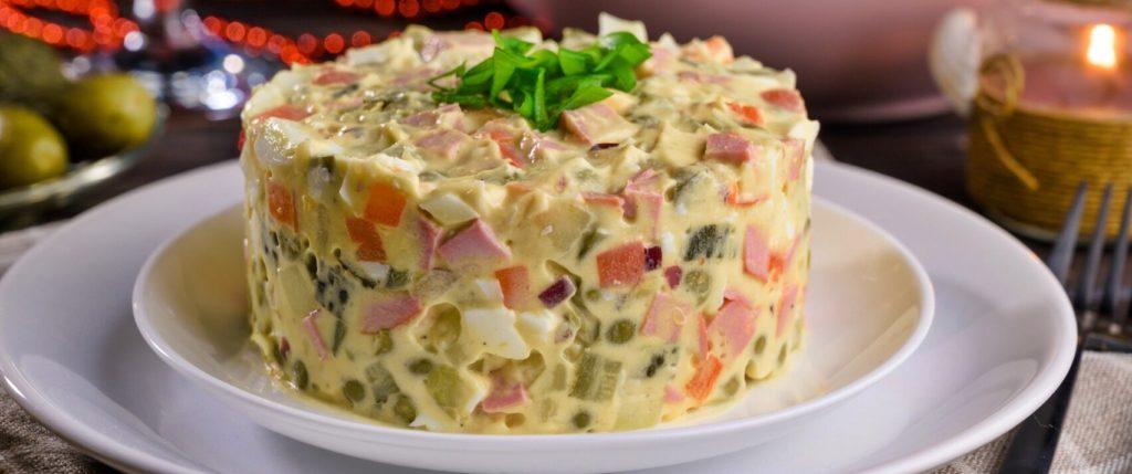 Интересные факты о салате Оливье